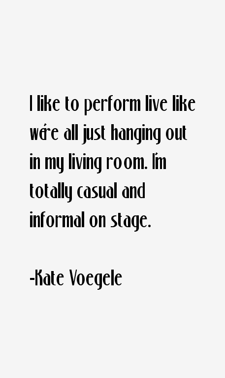 Kate Voegele Quotes
