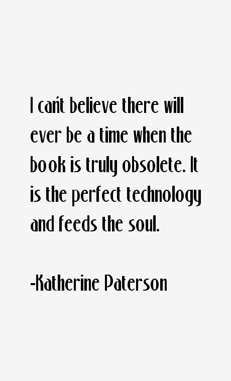 Katherine Paterson Quotes