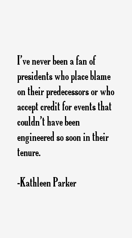 Kathleen Parker Quotes