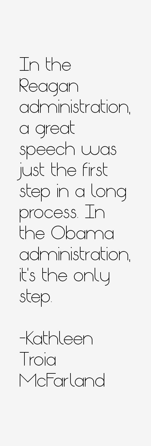 Kathleen Troia McFarland Quotes