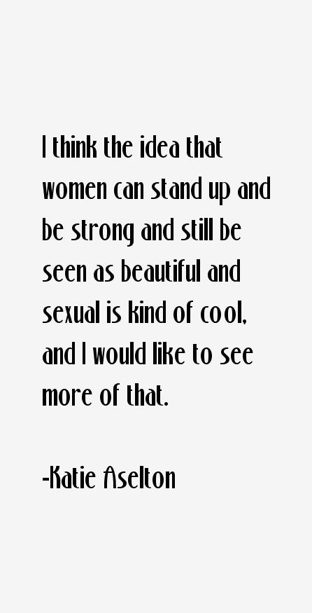 Katie Aselton Quotes