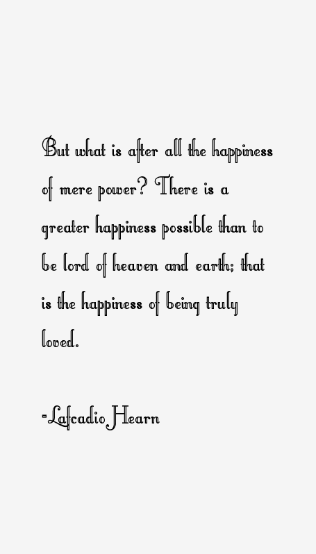 Lafcadio Hearn Quotes