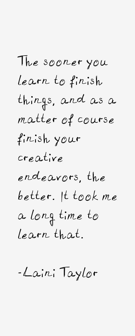 Laini Taylor Quotes