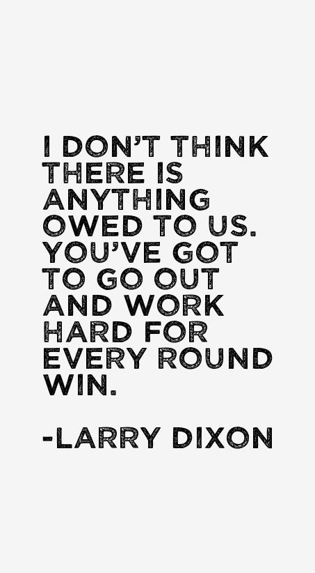 Larry Dixon Quotes