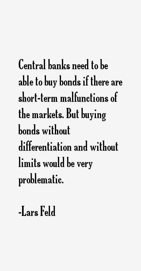Lars Feld Quotes