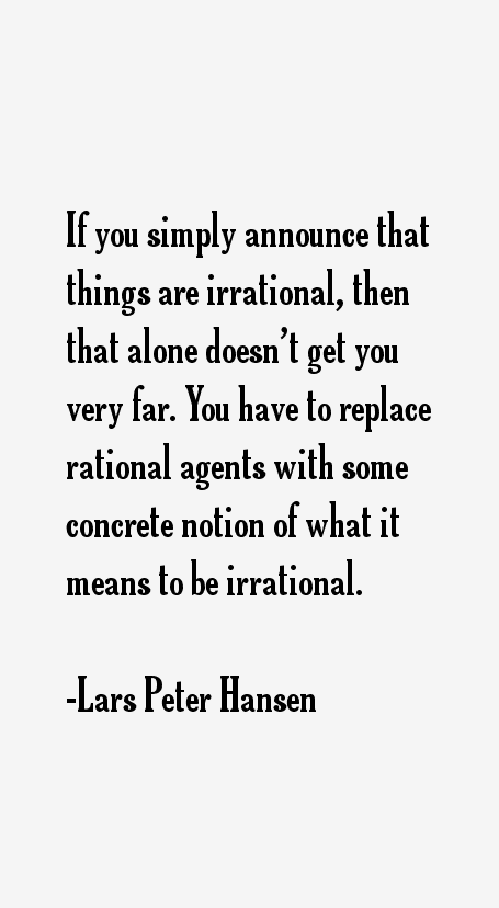 Lars Peter Hansen Quotes