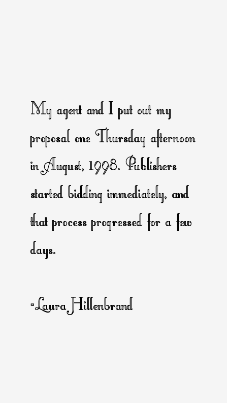 Laura Hillenbrand Quotes