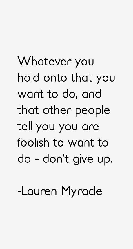 Lauren Myracle Quotes