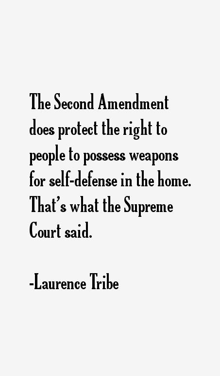 Laurence Tribe Quotes