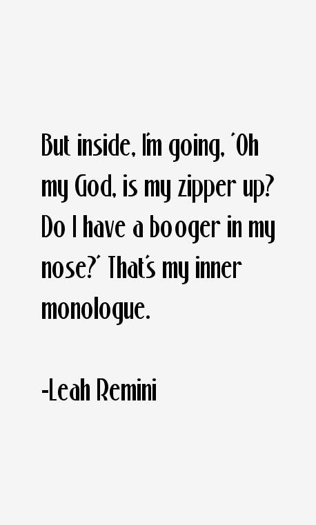 Leah Remini Quotes