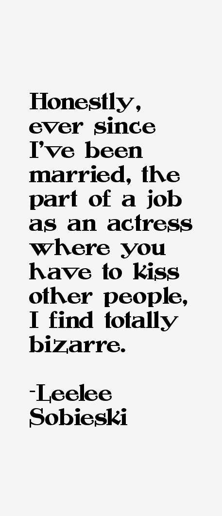 Leelee Sobieski Quotes