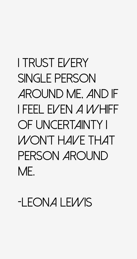 Leona Lewis Quotes