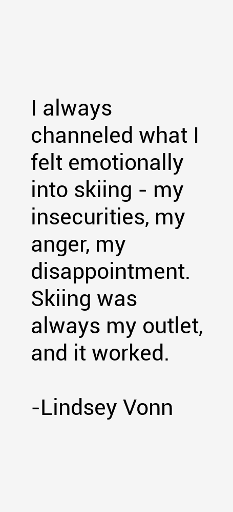 Lindsey Vonn Quotes