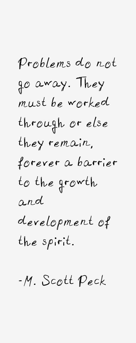 M. Scott Peck Quotes