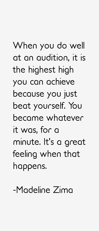 Madeline Zima Quotes