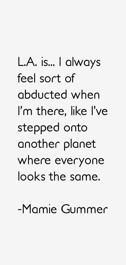 Mamie Gummer Quotes