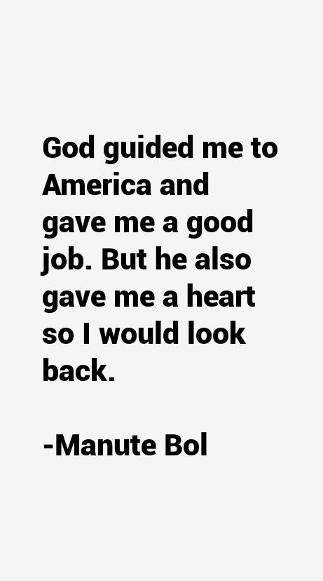 Manute Bol Quotes