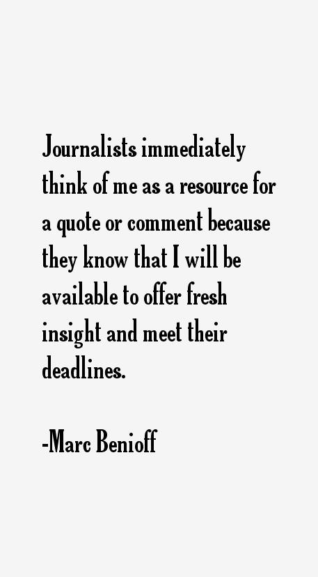 Marc Benioff Quotes