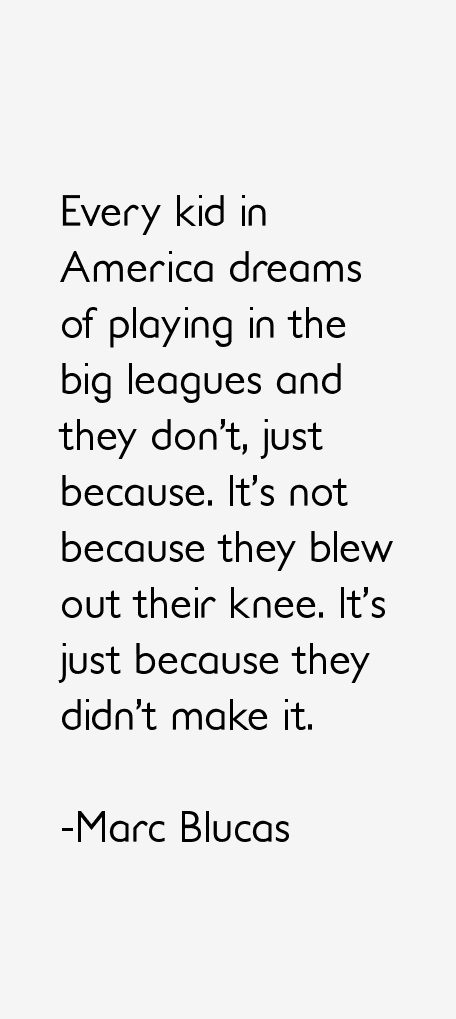 Marc Blucas Quotes
