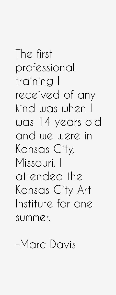 Marc Davis Quotes