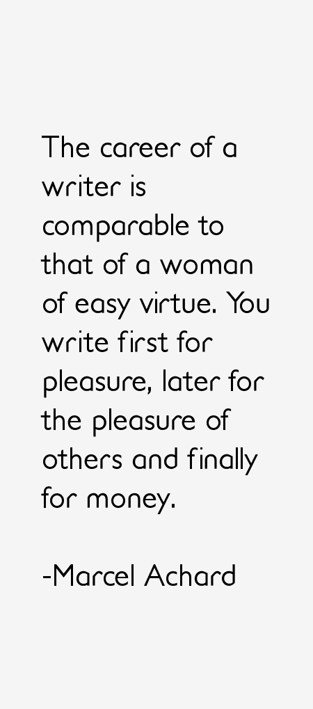 Marcel Achard Quotes