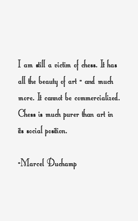 Marcel Duchamp Quotes