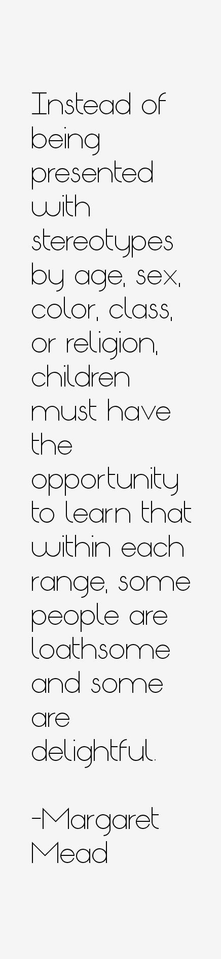 Margaret Mead Quotes