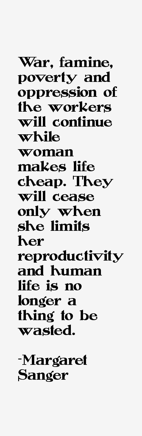Margaret Sanger Quotes