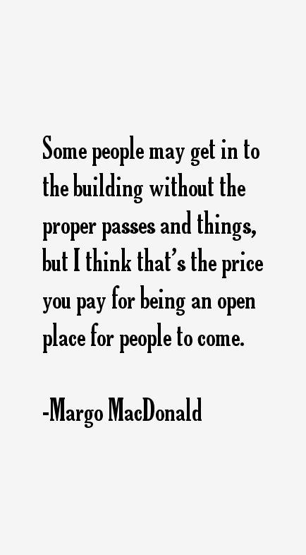 Margo MacDonald Quotes