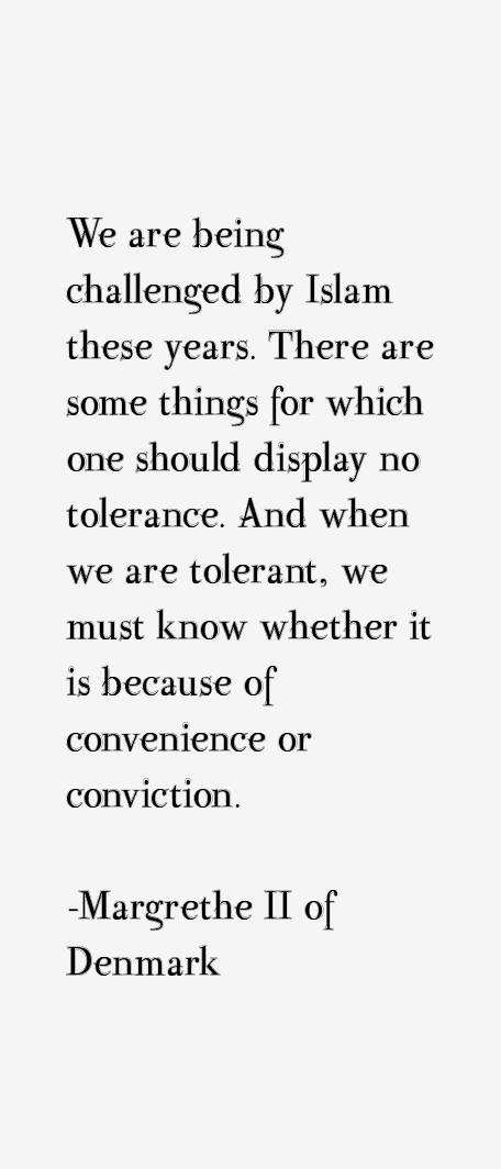 Margrethe II of Denmark Quotes