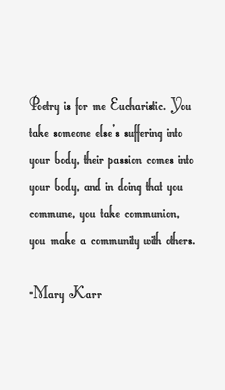 Mary Karr Quotes