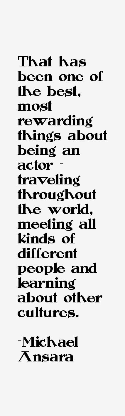 Michael Ansara Quotes