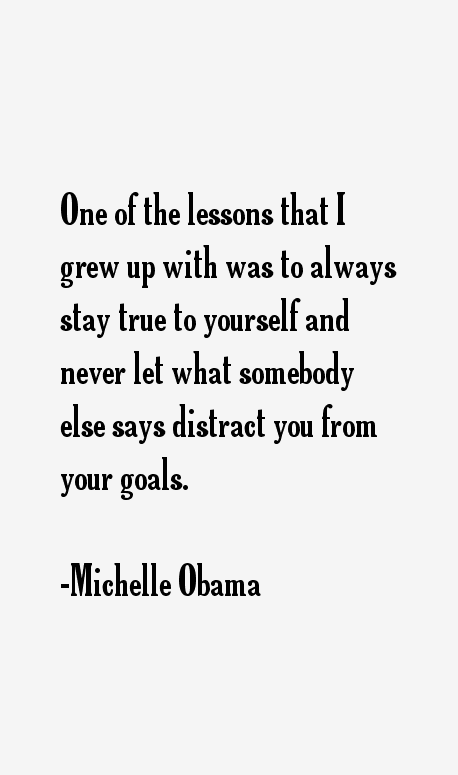 Michelle Obama Quotes Sayings