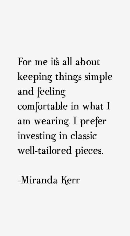 Miranda Kerr Quotes