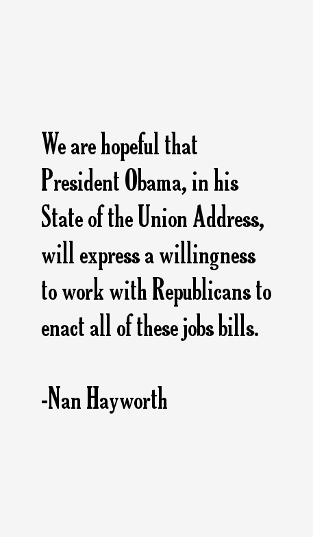 Nan Hayworth Quotes