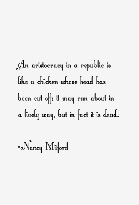 Nancy Mitford Quotes