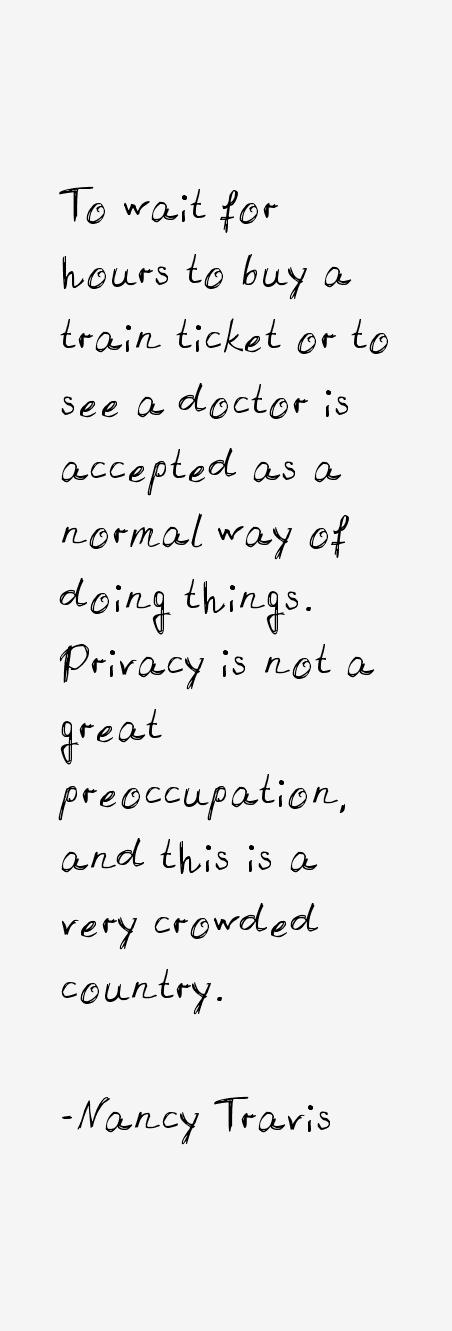 Nancy Travis Quotes