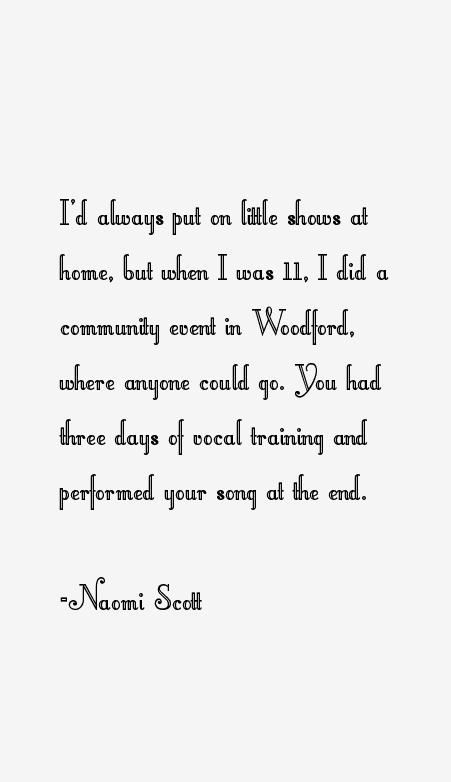 Naomi Scott Quotes