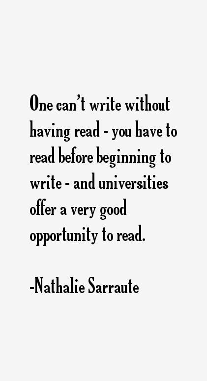 Nathalie Sarraute Quotes