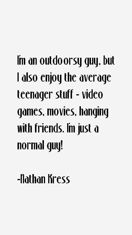 Nathan Kress Quotes