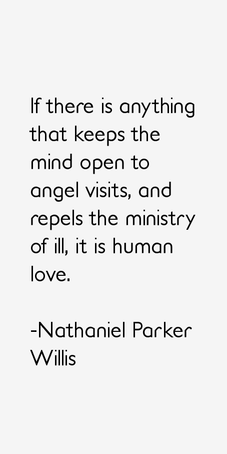 Nathaniel Parker Willis Quotes