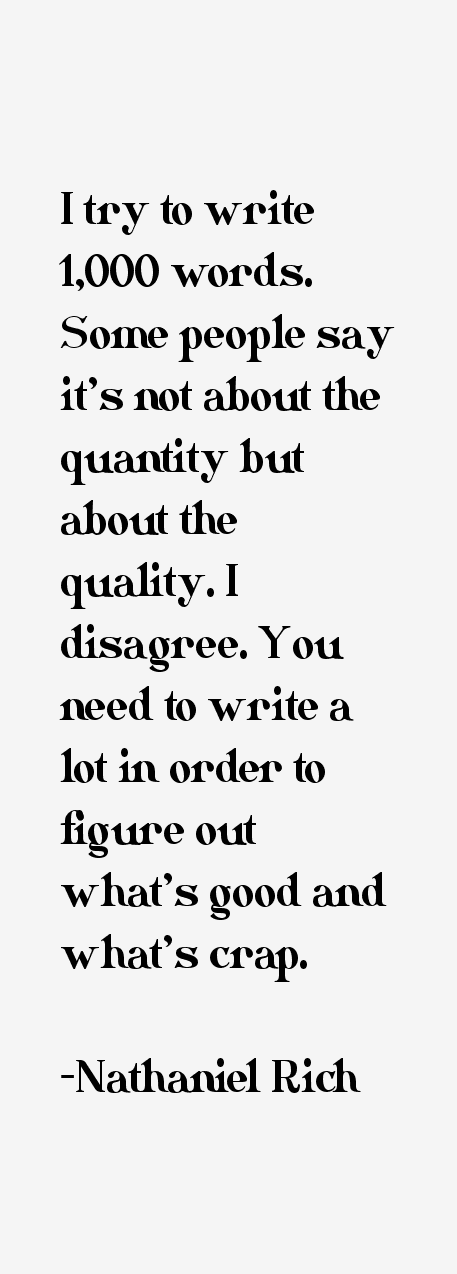 Nathaniel Rich Quotes