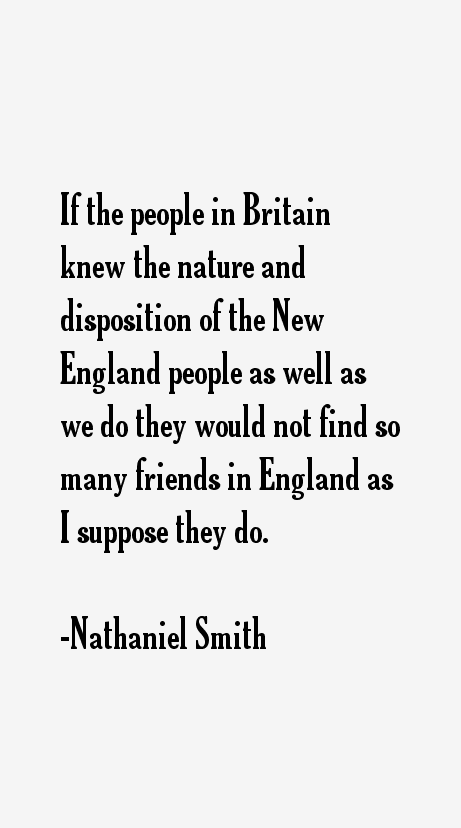 Nathaniel Smith Quotes