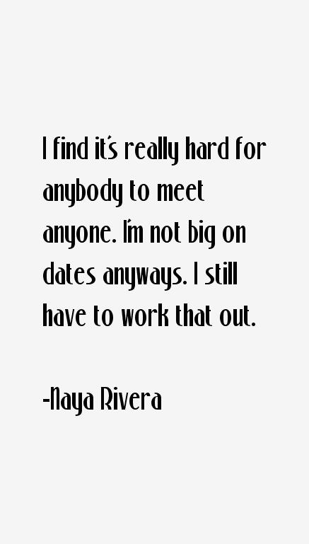 Naya Rivera Quotes