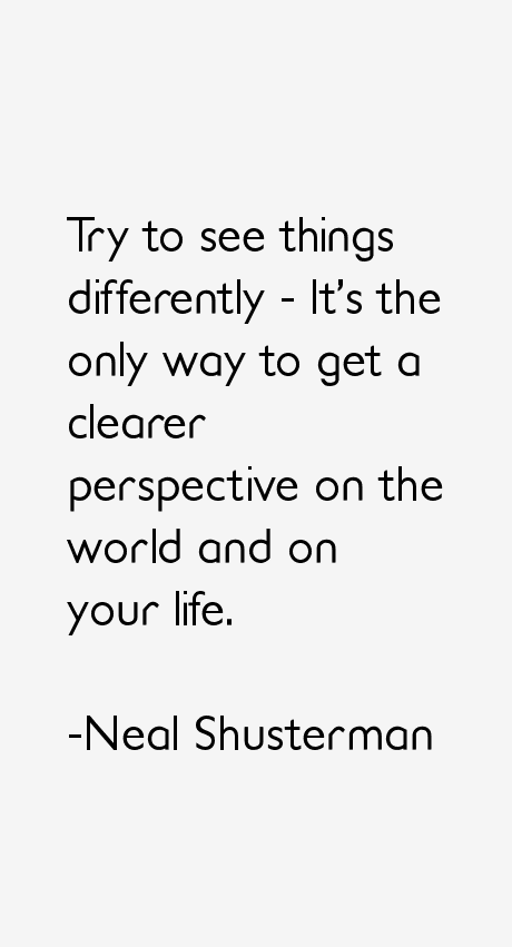 Neal Shusterman Quotes