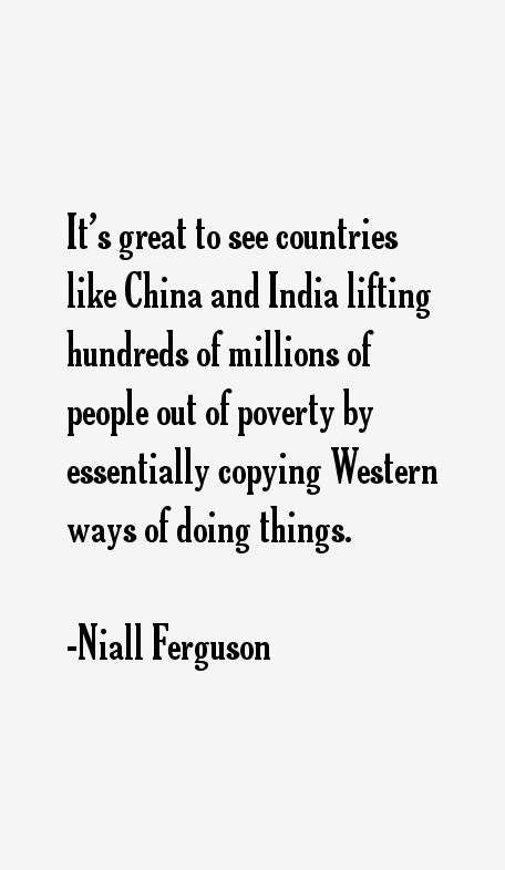 Niall Ferguson Quotes