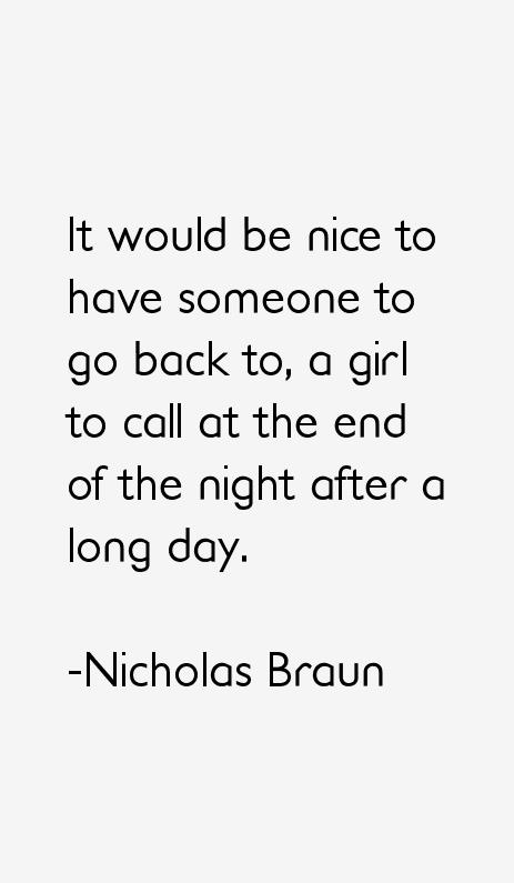 Nicholas Braun Quotes