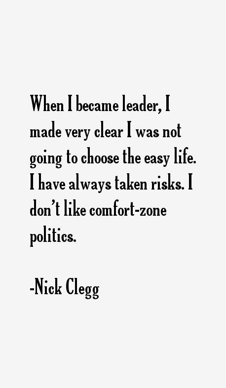 Nick Clegg Quotes