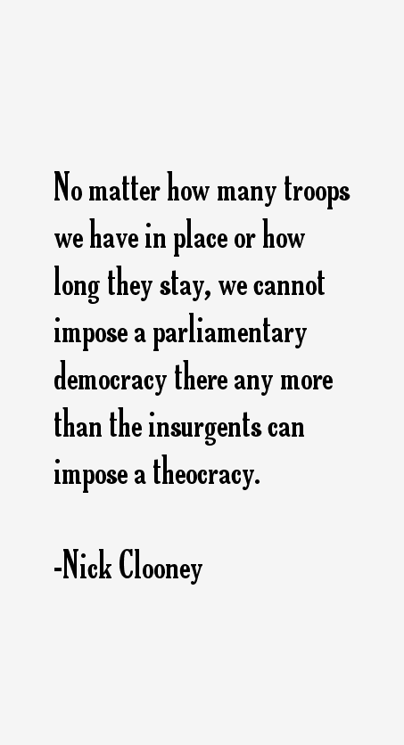 Nick Clooney Quotes