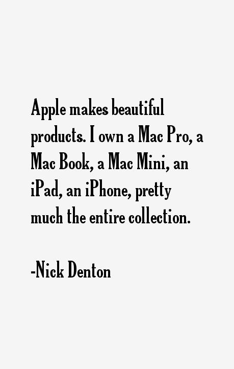 Nick Denton Quotes